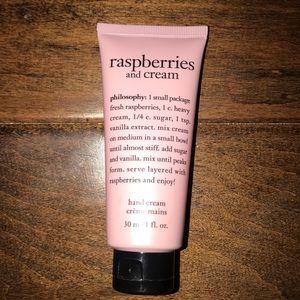 Raspberries and Cream Hand Cream